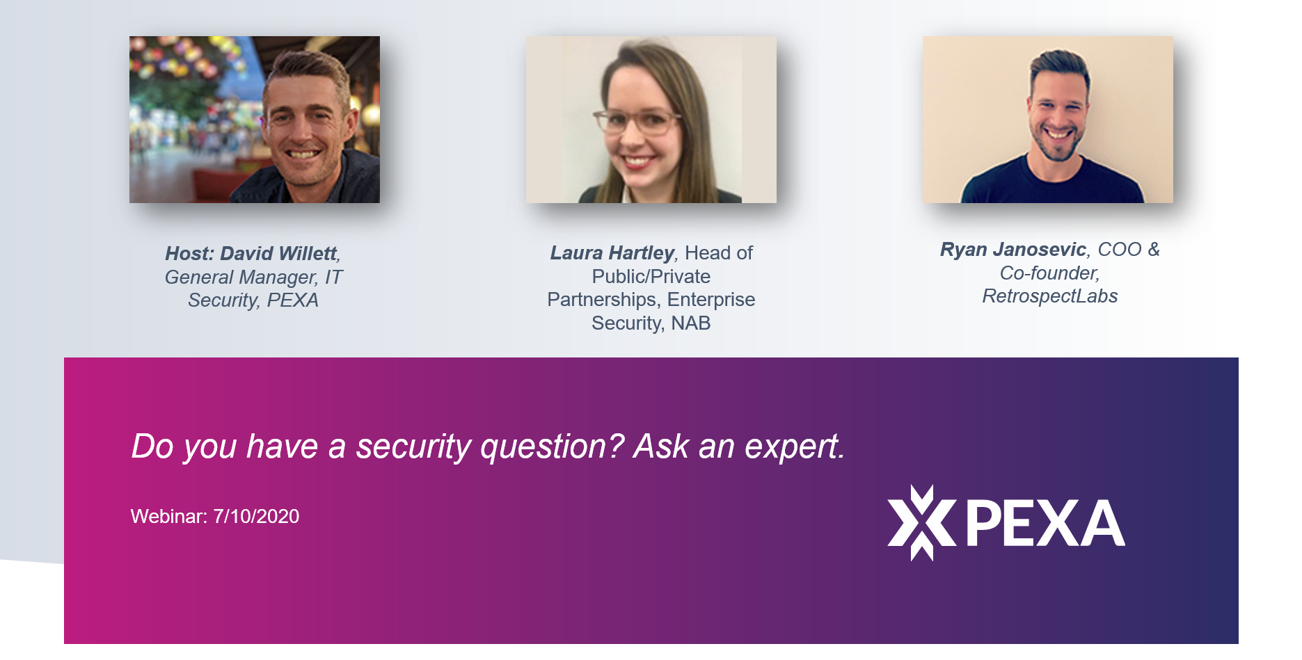 Industry experts discuss Security