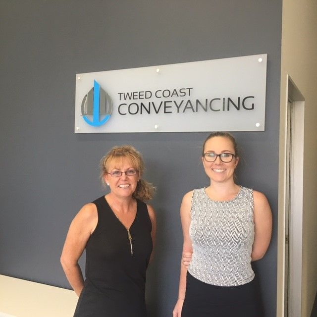Christine & Stephanie at Tweed Coast Conveyancing
