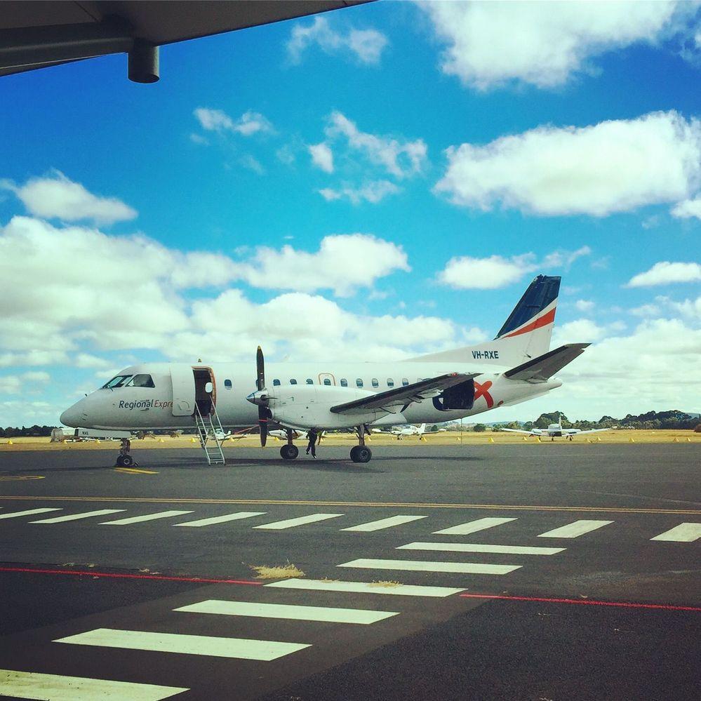 Tiny plane.....where's my suitcase??