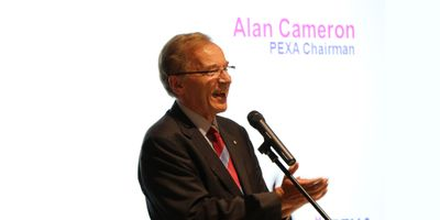 Chairman, Alan Cameron welcoming everyone to the PEXAPLEX