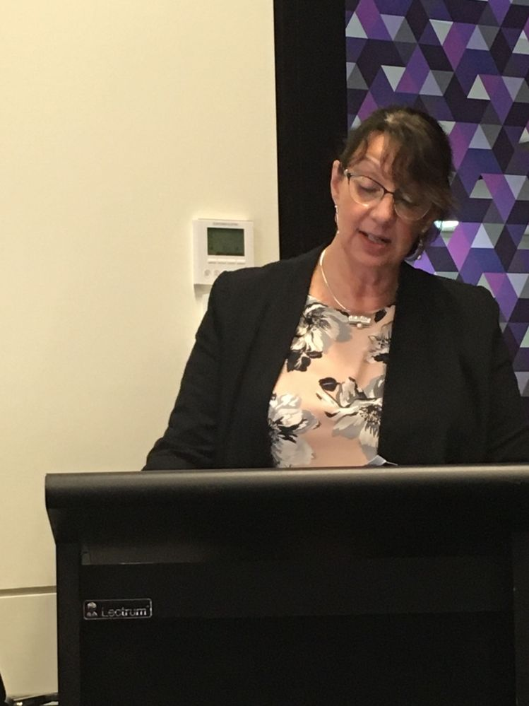 Rosemary Cotton from Australian Institute of Conveyancers