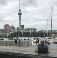 Harold settling at Auckland Wharf