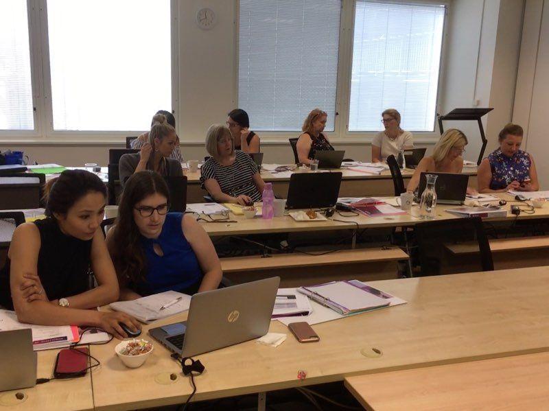 TTT Vic attendees working hard!