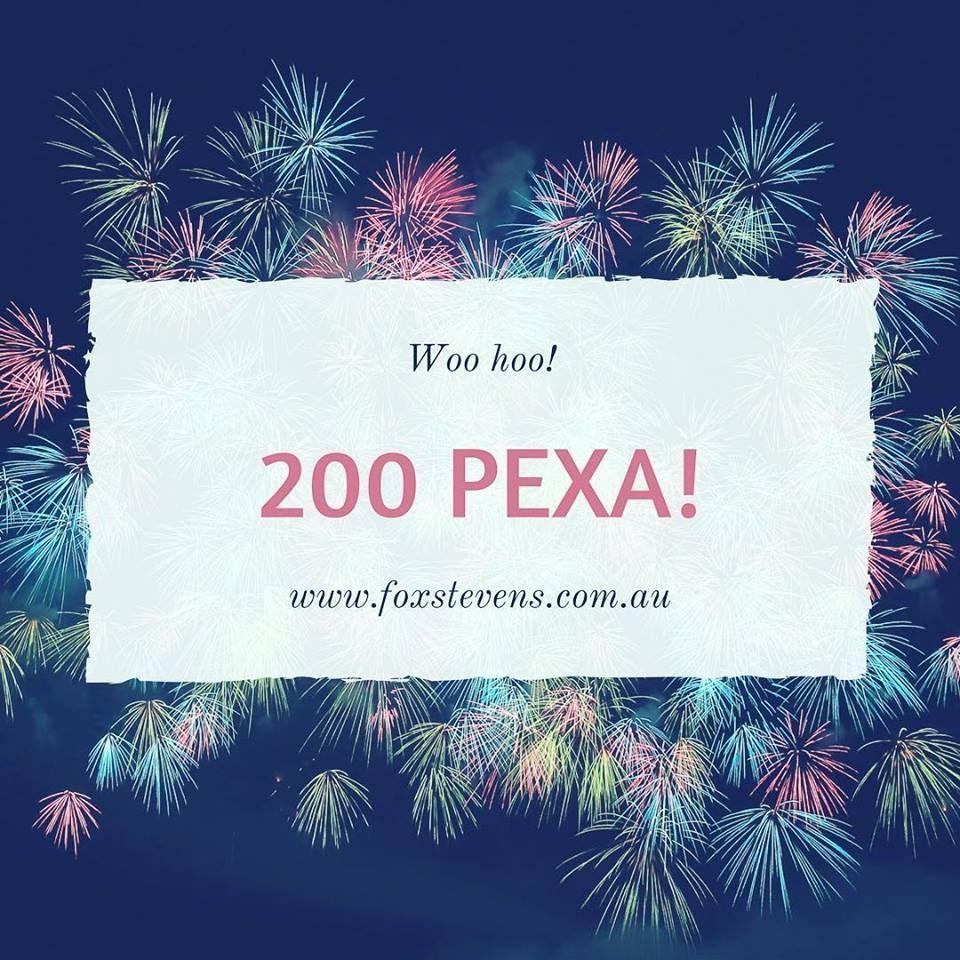 Woo hoo!  200 on pexa!