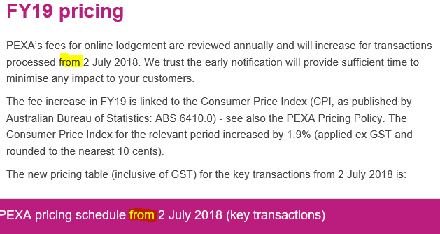 FY19 PEXA price summary from 2-7-18.png