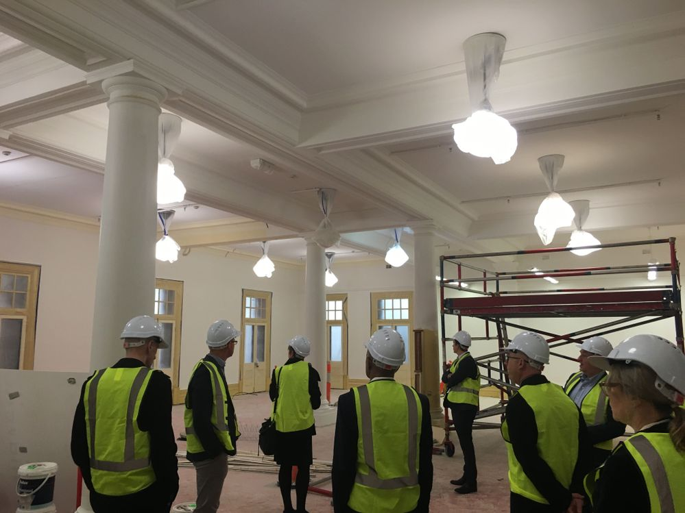 The old nurses mess quarters will now house world leading defence industries
