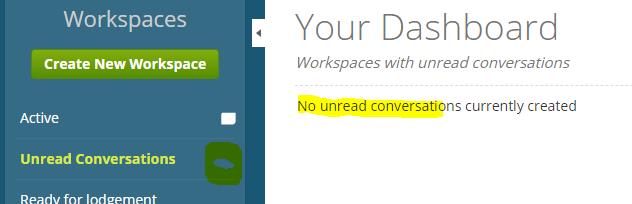 No Unread conversations.PNG