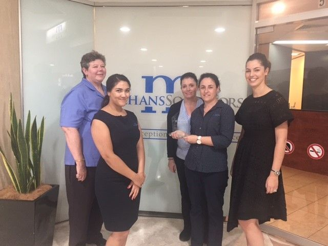 The team from Meehans Campbelltown