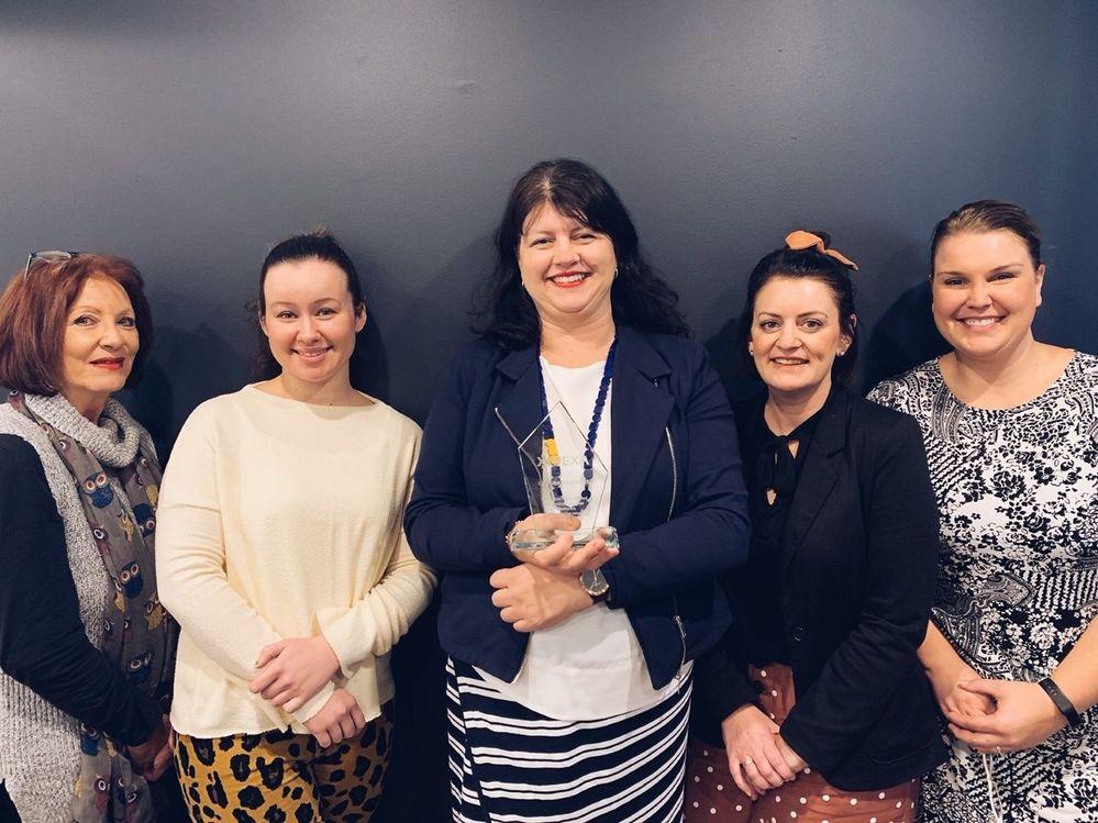 Angela, Maddie, Jacqui, Renee & Lisa