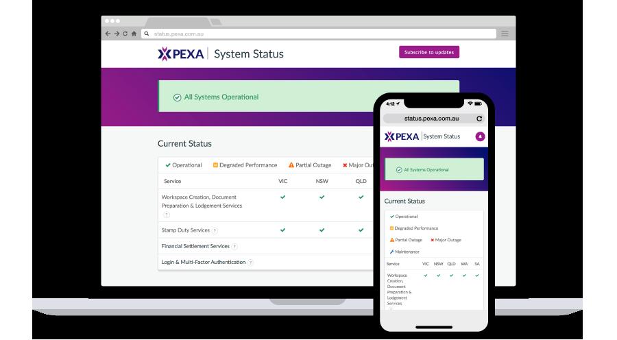 PEXA-system-status-shoutout.png