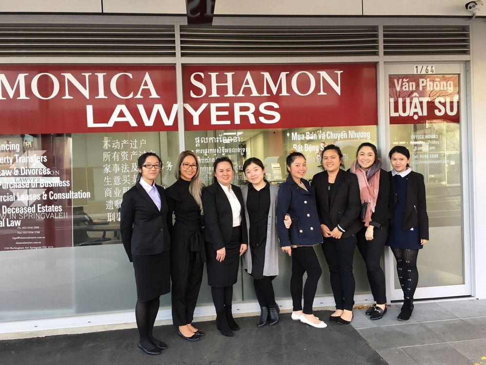 Monica Shamon Lawyers Springvale