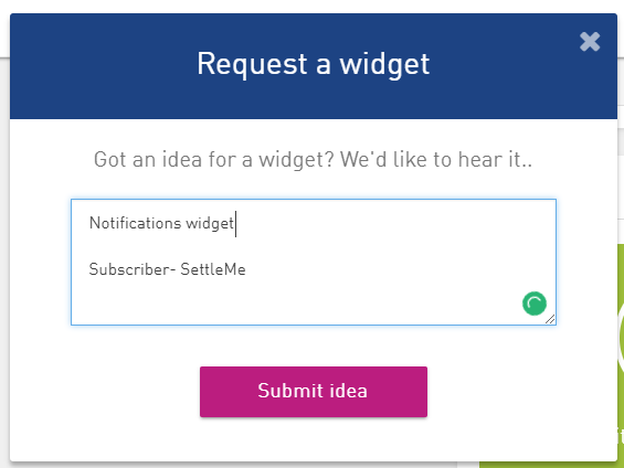 Dashboard widget requests.PNG